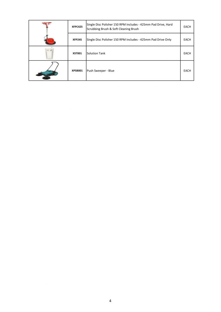 Janitorial Trolleys & Cleaning Machines